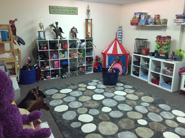 Playroom at Play Therapy Minnesota.